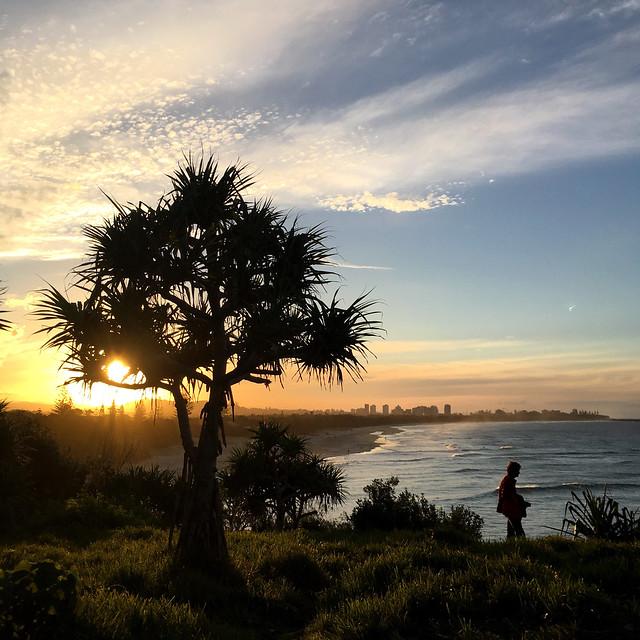 Dreamtime Beach on dusk.