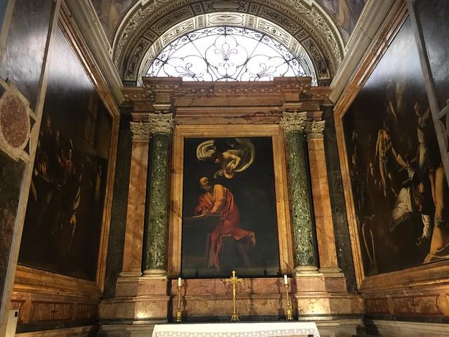 Caravaggio at San Luigi dei Francesi