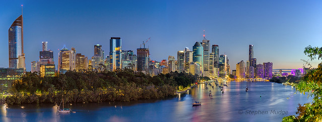 Brisbane city at dawn #2