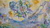 Details of Chagall's Four Seasons Mosaic (2)