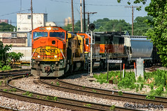 BNSF 9290 | EMD SD60M | BNSF Thayer South Subdivision