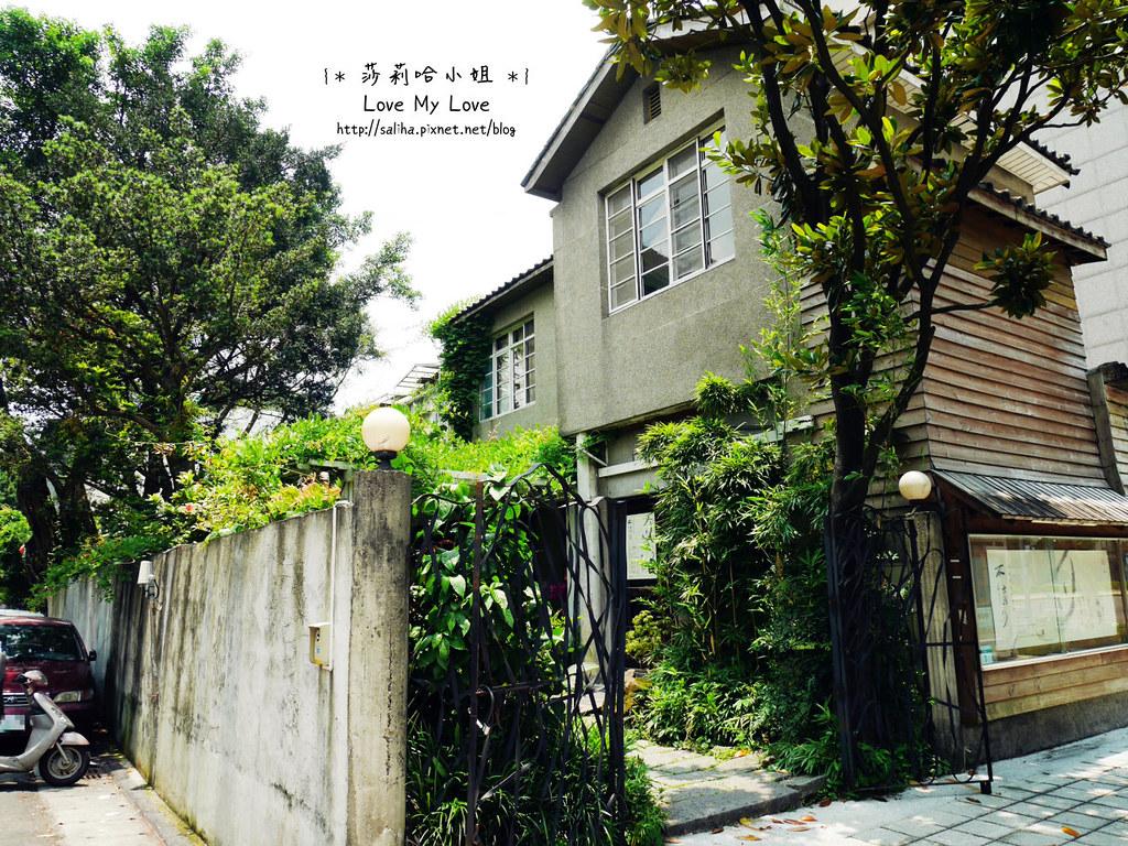 台北大安區公館新生南路附近餐廳推薦紫藤廬泡茶下午茶 (2)