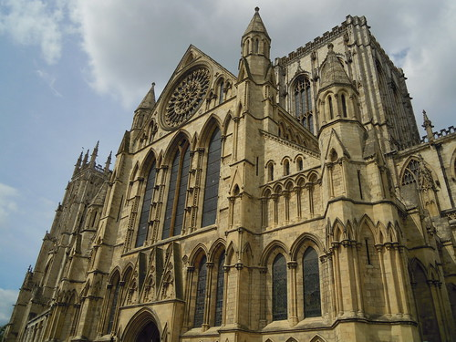 York Minster. From Studying Abroad in London: A Stop in York