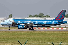 Brussels Airlines Airbus A320-214 OO-SNC