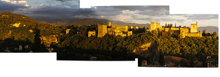 Late evening across from the Alhambra