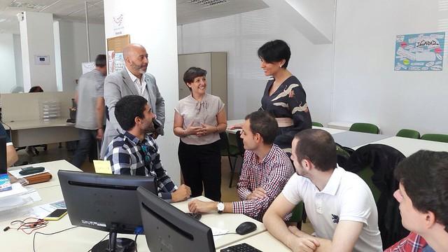Visita a la I Lanzadera de Empleo de Ponferrada