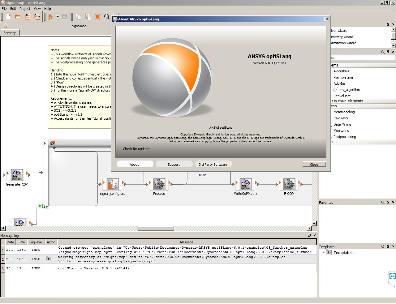 Working with ANSYS optiSLang 6.0.1.42144 Win-Linux x64 full license
