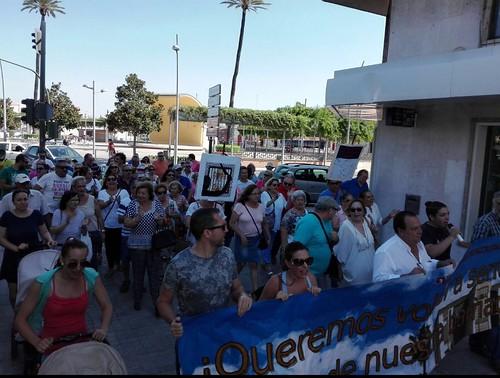 Manifestación de la Plataforma de La Moneda
