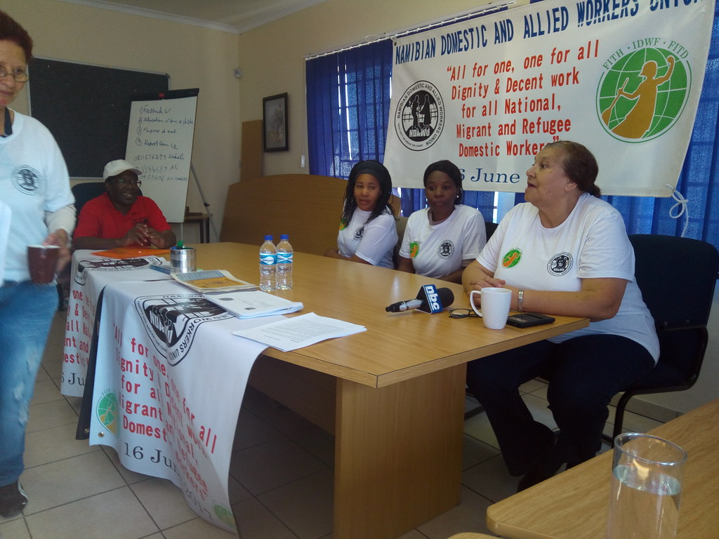 2017-7-1~2 Namibia: NDAWU Shop-stewards training on conditions of employment and dispute resolutions