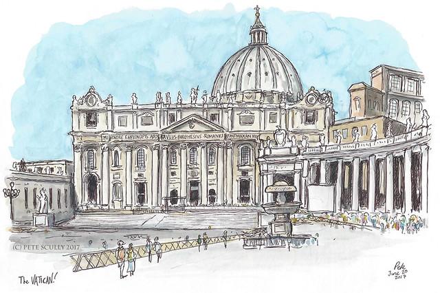 The Vatican sm