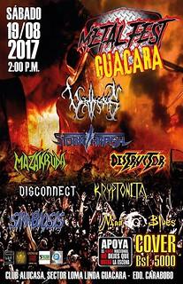 Metal Fest Guacara (19-08-2017)
