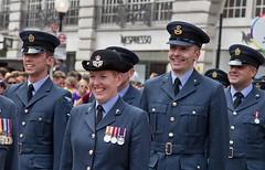 RAF, London Pride Parade 2017