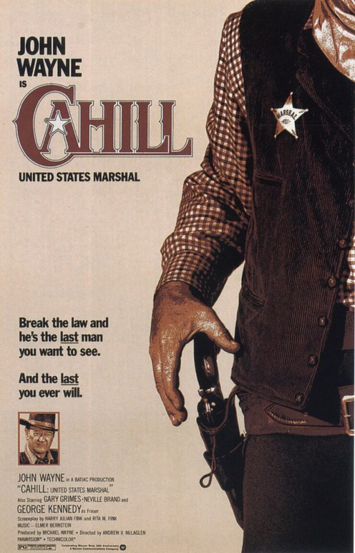 Cahill - U.S. Marshal - Poster 3