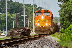 BNSF 7693 | GE ES44DC | NS Memphis District