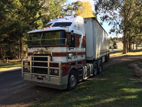 KENWORTH of Gunns TRansport at Black Springs, NSW