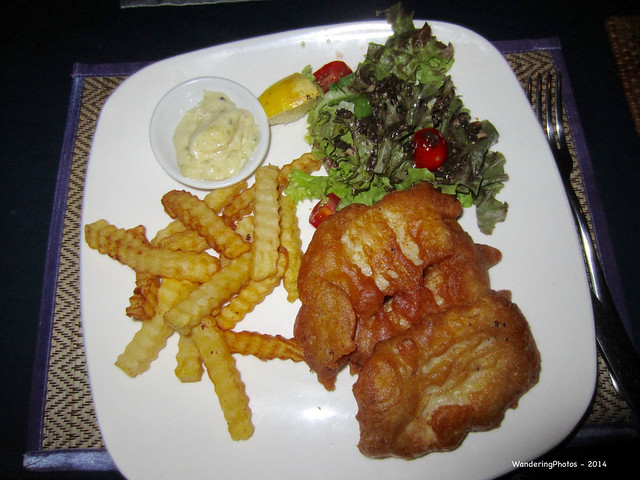 Fish Chips - Genevieve's, Canon IXUS 220HS