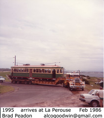 Tram 1995 to La Perouse