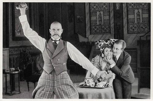 Paul Westermeier, Hanne Brinkmann and Hans Albers in Baroneßchen auf Strafurlaub (1917)