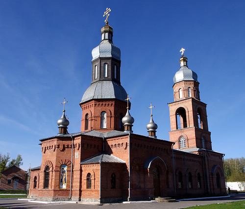 ukraine building church history city architecture faith structure construction tower outdoor roof khmelnitsky pentax