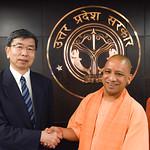 President begins India visit