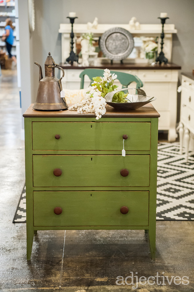 Hand Painted, Green Chest By Turnstyle In Adjectives Altamonte 3376.NEF