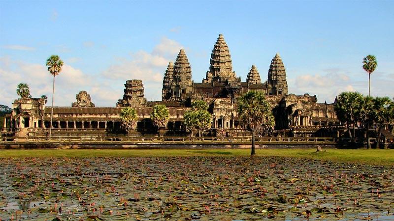 Angkor Wat, Kamboja.