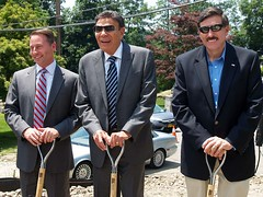 Fort Hill Project Groundbreaking