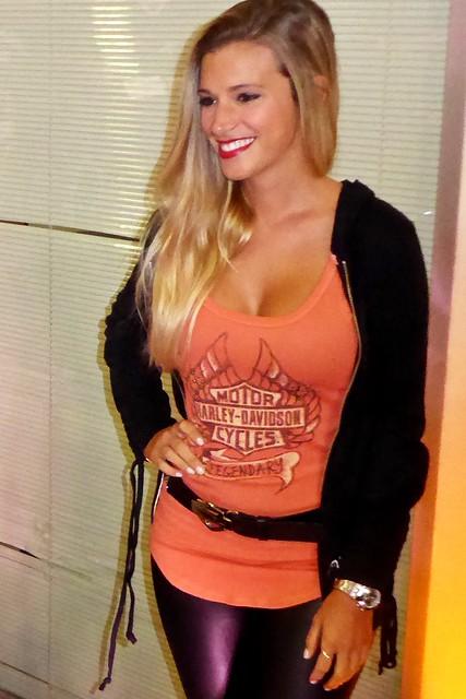 Harley-Davidson - Lanzamiento, las chicas