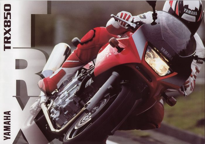 Yamaha 850 TRX 1999 - 4