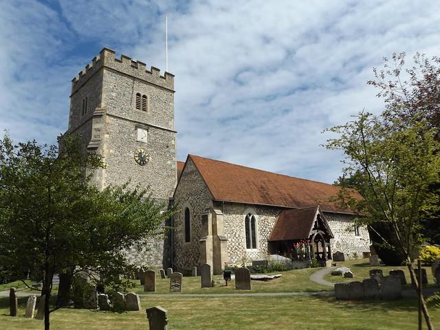 Holy Trinity Church, Cookham, Berkshire, 8 July 2017