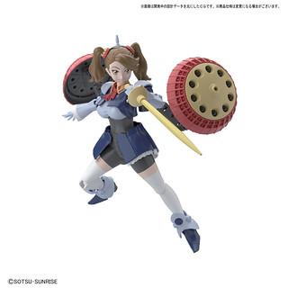 她叫吉昂妹!HGBF 《鋼彈創鬥者》「超級薫子」1/144比例組裝模型!はいぱーギャン子