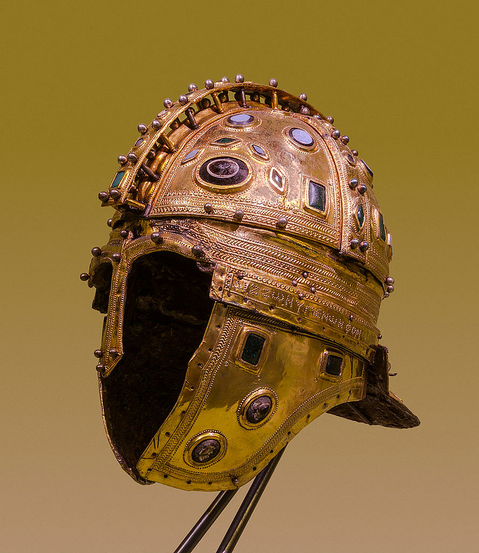 Roman Helmet, Late Roman Ridge Helmet, first twenty years of the 4th century CE