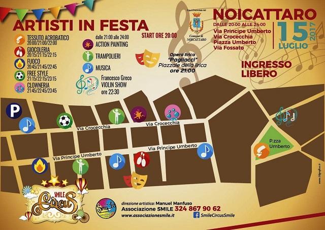 Noicattaro. Smile Circus intero2