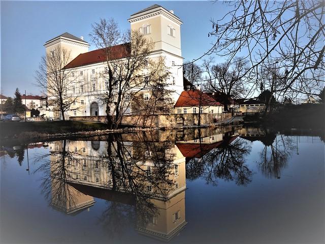 Wolkersdorf, Lower Austria (Schloss Wolkersdorf), Palacio de Wolkersdorf, Wolkersdorf Palace, Palazzo di Wolkersdorf, le Palais de Wolkersdorf - Zamek (Schlossplatz)