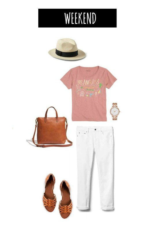 3 ways to wear white jeans weekend | Style On Target blog