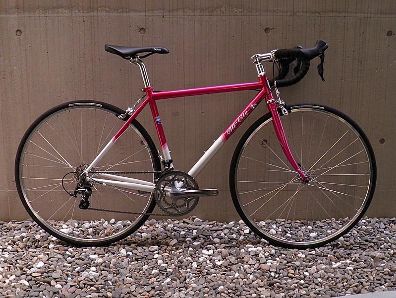 AllCity MrPink Shimano Tiagra Pink Silver 01