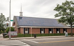 Solar Panels at Tenth St. Baptist Church