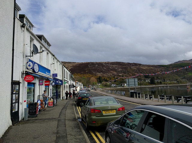 downtown Ullapool