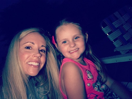 Fireworks with my favorite gal!