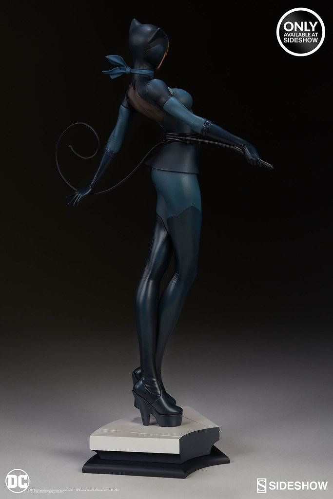 Sideshow DC Comics 【貓女】Catwoman 1/5 比例全身雕像作品