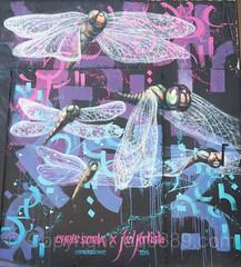 Harman Wall Mural (2015) by Chris Soria and Joel Artista, Bushwick, Brooklyn, New York City
