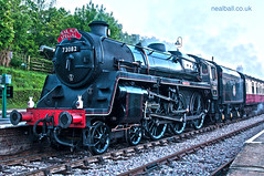 BR Standard No 73082 4-6-0 i2r