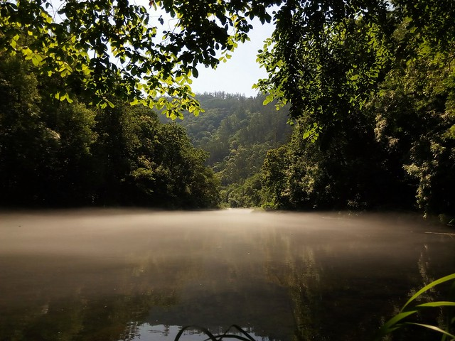 foto río Eume en xuño