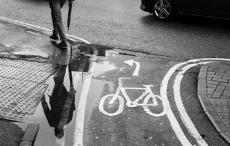 FILM - Upside-down in a puddle