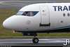 Trade Air Fokker 100 9A-BTD @ EGNS / Isle of Man Airport