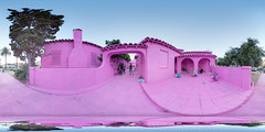 The Pink House by The Most Famous Artist