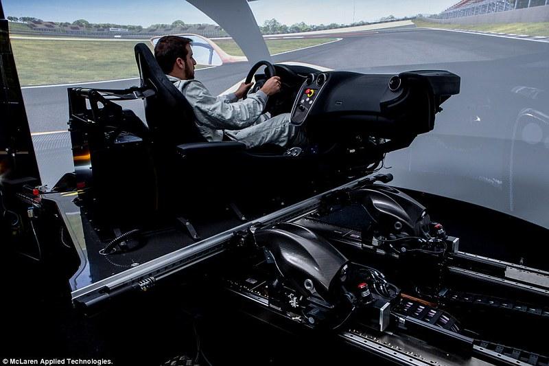 McLaren Applied Technologies Vehicle Dynamics Simulator