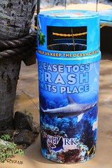 Deco Trash Bin, Sea Life Park
