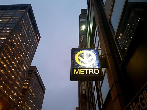 Métro McGill