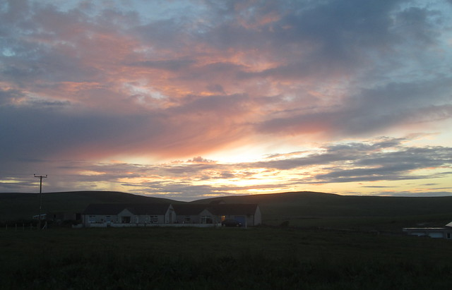 Evening Sky, Stromness, Orkney